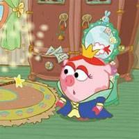 Игра Смешарики Нюша Принцесса онлайн