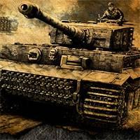 Игра Соревнование танков на троих онлайн