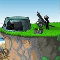 Игра Спасти рядового Стикмена онлайн