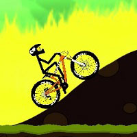 Игра Стикмен на велосипеде