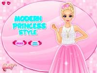 Игра Стиль современной принцессы онлайн