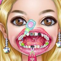 Игра Стоматология лечить зубы онлайн