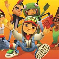 Игра Subway surfers бег
