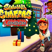 Игра Subway surfers london