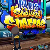 Игра Subway surfers paris