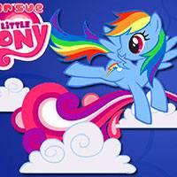 Игра Пони радуга онлайн