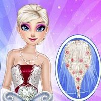 Игра Свадебная прическа онлайн
