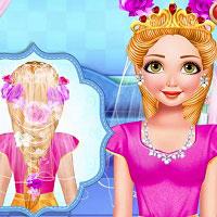 Игра Свадебные причёски онлайн