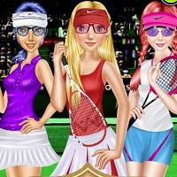 Игра Теннис с Барби онлайн