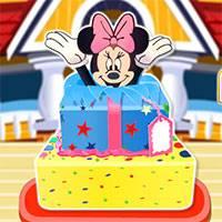 Игра Торт-сюрприз от Минни онлайн