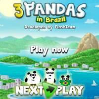 Игра Три панды онлайн