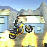 Игра Трюки на мотоциклах онлайн