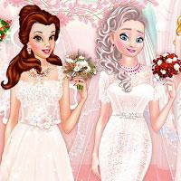 Игра У принцесс свадьба онлайн
