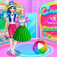 Игра Укрась девочку конфетку онлайн