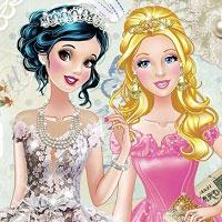 Игра Винтажная принцесса онлайн