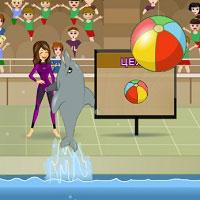 Игра Выступает дельфин онлайн