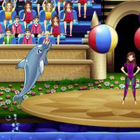 Игра Выступает дельфин 5 онлайн