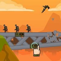 Игра Взрывать мосты онлайн
