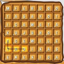 Игра Вафельные слова онлайн