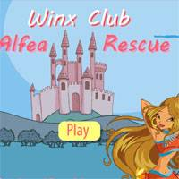 Игра Винкс Бродилки по Алфее онлайн