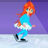Игра Винкс на льду онлайн