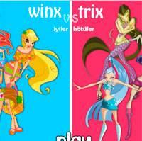 Игра Винкс против Трикс онлайн