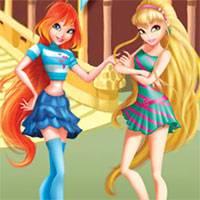 Игра Винкс танцы онлайн