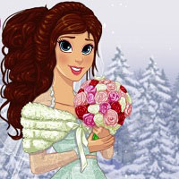 Игра Зимняя свадьба онлайн