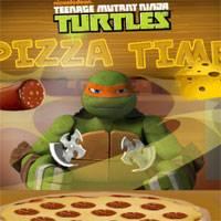 Игра Черепашки Ниндзя: Время Пиццы