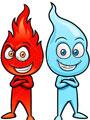 Огонь равным образом вода