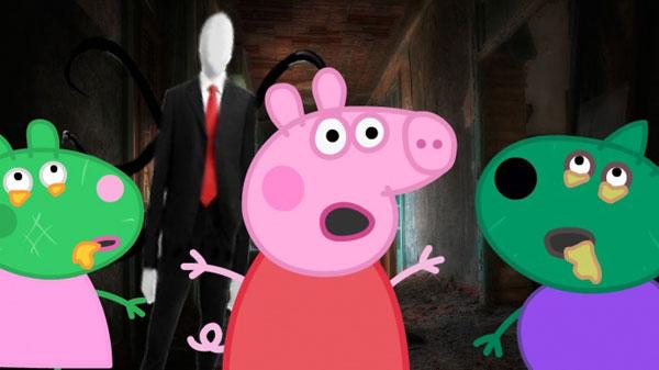 Свинка Пеппа: страшилки, ужастики, страшные истории