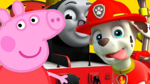 Свинка Пеппа и Щенячий патруль