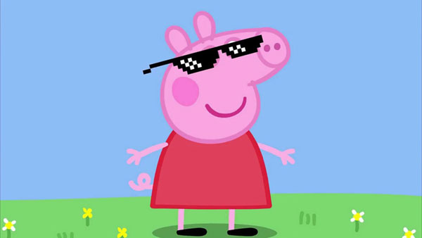 Крутая свинка Пеппа
