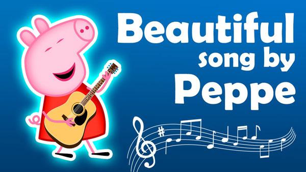 Песни и музыка в мультфильме Свинка Пеппа